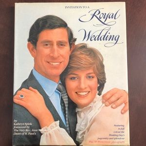 Invitation to a Royal Wedding Coffee Table Book